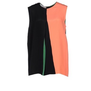 Cédric Charlier Top Black, orange and green