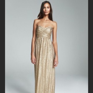 Amsale Gold G973q Dress