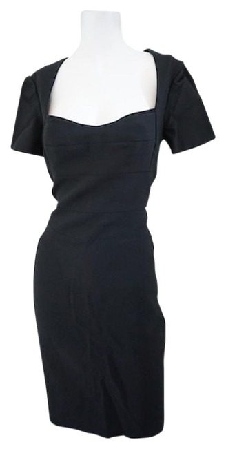 Preload https://img-static.tradesy.com/item/19756166/narciso-rodriguez-black-evening-mid-length-cocktail-dress-size-6-s-0-1-650-650.jpg