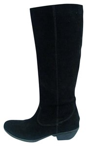 A.N.A. a new approach Suede Knee Black Boots