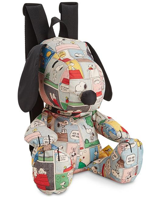 Item - Peanuts Collection Snoopy - Limited Edition Multicolor Polyester Backpack