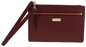 Kate Spade Wristlet in Train Car Red