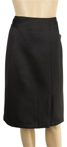 Tom Ford Silk Wool Skirt Black