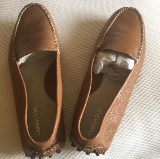 Comfort Style Brown, luggage Flats