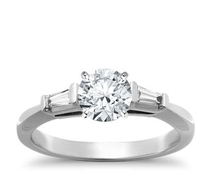 Tiffany & Co. Tiffany & Co Platinum 1.28ct H VS2 Diamond Engagement Ring