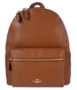 Coach Leather Charlie Backpack