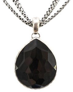 Ippolita Ippolita Sterling Silver Quartz ROCK CANDY TEARDROP ENHANCER Pendant