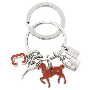 Coach Coach Red Horse Key Ring/Charms/FOB: MSRP $60