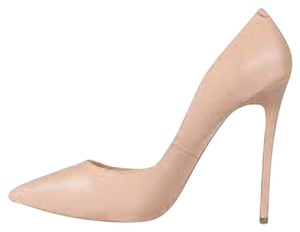 Tony Bianco Leather Nude Pumps