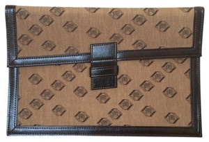 Vintage Woven Gift Brown Clutch