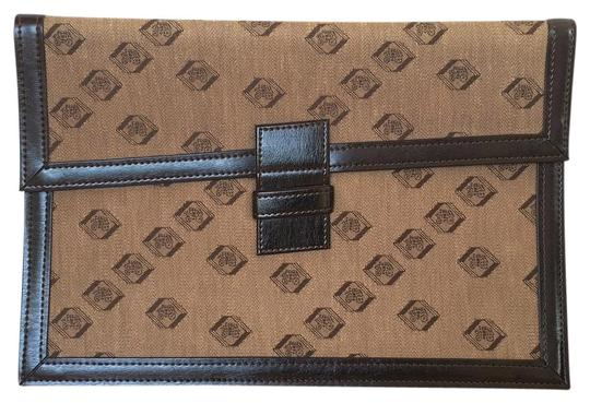 Preload https://img-static.tradesy.com/item/19756908/vintage-80s-new-portfolio-briefcase-wells-fargo-italian-jacquard-german-flat-document-brown-woven-fa-0-2-540-540.jpg