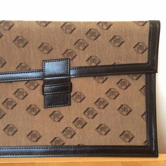 Other Vintage Woven Gift Brown Clutch