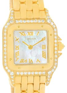 Cartier Cartier Panthere Yellow Gold Mother of Pearl Diamond Watch W25022B9