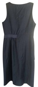 J.Crew Belted Super 120 Wool Dress