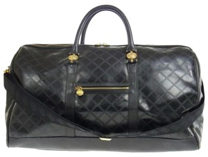 Versace Black Travel Bag