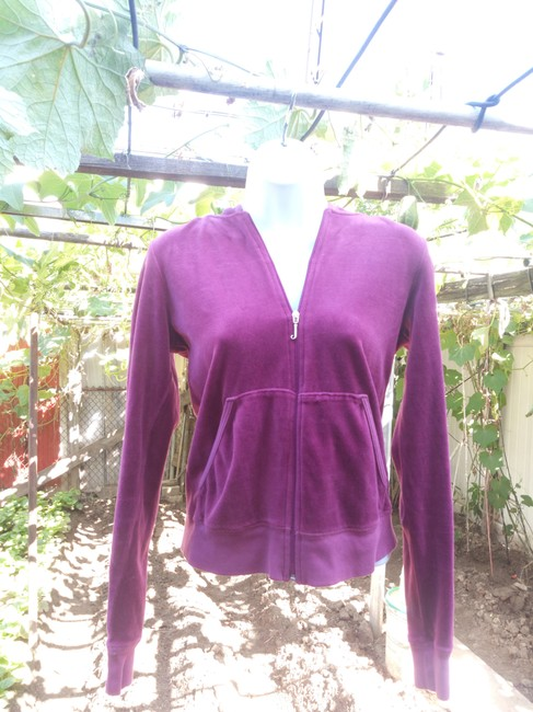Juicy Couture Velour Velour Hoodie Hoodie Hoodie fuchsia Jacket