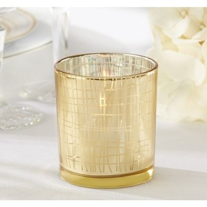 Gold Candle Holder (set Of 20)