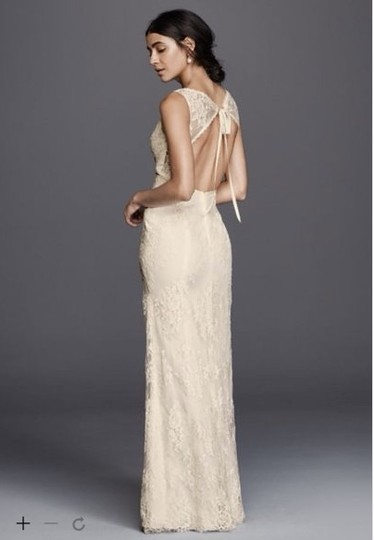Preload https://img-static.tradesy.com/item/19757346/galina-white-lace-vintage-wedding-dress-size-4-s-0-0-540-540.jpg