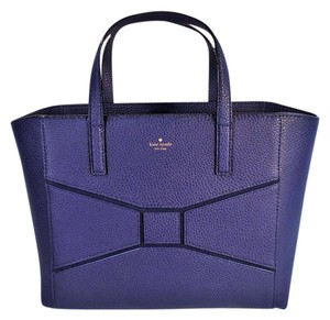 Kate Spade Francisca Shoulder Tote in French Navy