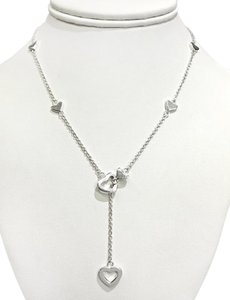 Tiffany & Co. Tiffany & Co Sterling Silver Lariat Necklace
