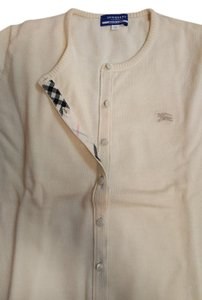 Burberry Blue Label White Cardigan