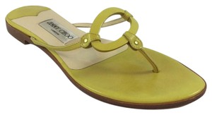 Jimmy Choo Yellow Sandals