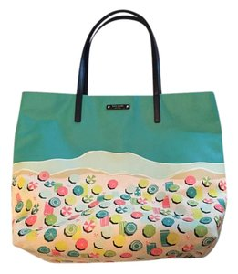 Kate Spade Beach Beach Tote Multicolor Shoulder Bag