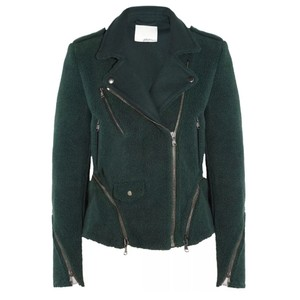 3.1 Phillip Lim Shearling Biker Moto Military Jacket