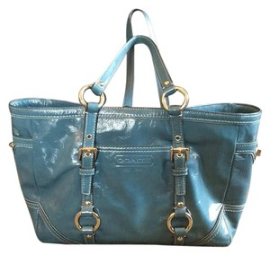 Coach Satchel in Blue