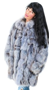 Saga Furs Fox Fur Fox Fox Fur Coat