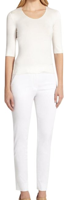 Preload https://img-static.tradesy.com/item/19757718/armani-collezioni-white-tech-cotton-ankle-straight-leg-pants-size-4-s-27-0-2-650-650.jpg