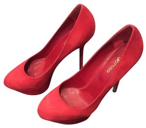 Sergio Rossi Red Platforms