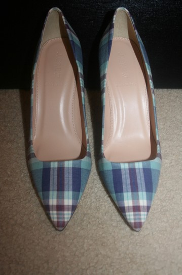 J.Crew Seafoam Multi Pumps