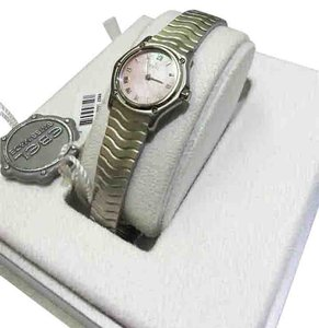 Ebel 9157111 Small Wave Watch Stainless Steel & Pink Mother of pearl Dial