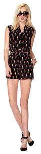 Forever 21 Casual Resort Vacation Novelty Print Date Night Dress