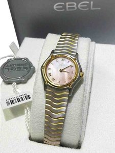 Ebel WOMEN'S SPORT CLASSIC WATCH, 18K Yellow Gold and Stainless Steel