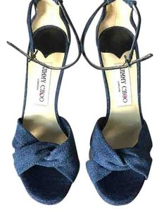 Jimmy Choo Denim Pumps