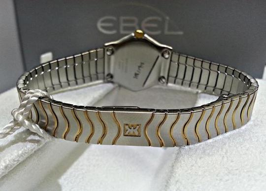 Ebel Pink Mother of Pearl & Diamond Dial Ladies Stainless Steel Watch