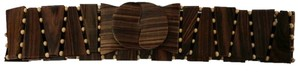 TLC Wooden/Beaded Stretch Belt (Brand New)