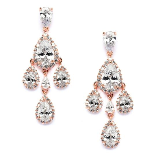 Preload https://img-static.tradesy.com/item/19758040/mariell-rose-gold-petite-cubic-zirconia-chandelier-with-pear-shaped-halo-teardrops-4555e-rg-earrings-0-0-540-540.jpg