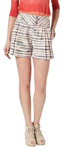 Cartonnier Anthropologie Brindled Resort Date Night Striped Dress Shorts