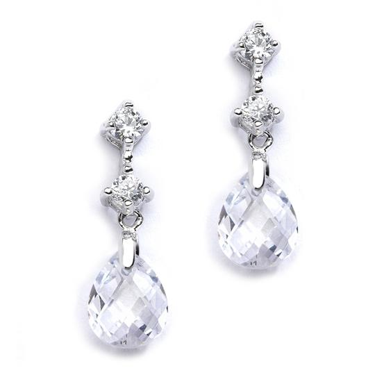 Preload https://img-static.tradesy.com/item/19758135/mariell-clear-cz-or-bridesmaids-with-crystal-drops-4078e-cr-earrings-0-0-540-540.jpg