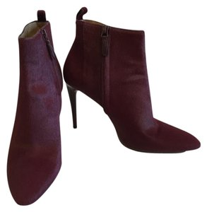 Balenciaga Pony Fall Burgundy Boots