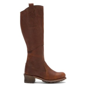 CAT Footwear by Caterpillar Leather Knee-high Peanut Brown Boots