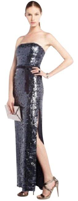 Preload https://img-static.tradesy.com/item/19758277/bcbgmaxazria-blue-lela-sequin-gown-with-slit-long-formal-dress-size-8-m-0-1-650-650.jpg