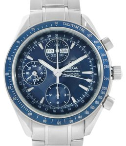 Omega Omega Speedmaster Day Date Chronograph Watch 3222.80.00 Box Papers