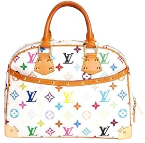 Louis Vuitton Trouville Satchel in Multi Color