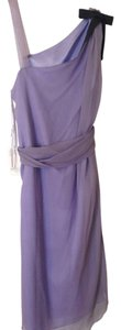 Vera Wang Lavender Label Silk Chiffon Dress