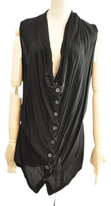 Ann Demeulemeester Button Down Shirt black