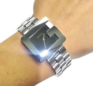 Gucci Gucci 3600M Series Black G-Case Stainless Steel Watch